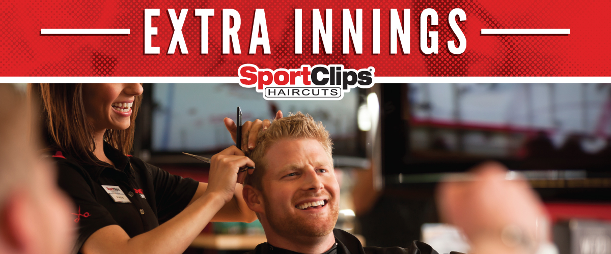 The Sport Clips Haircuts of Concord Extra Innings Offerings